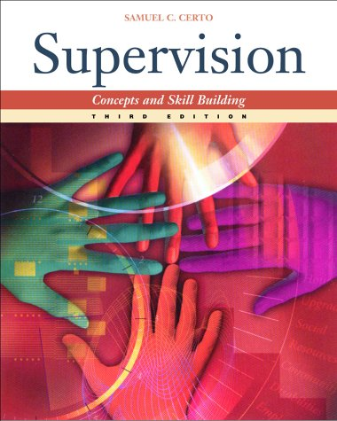 9780072284041: Supervision: Concepts and Skill Building