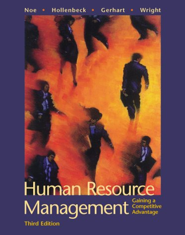 9780072285185: Human Resource Management: Gaining a Competitive Advantage