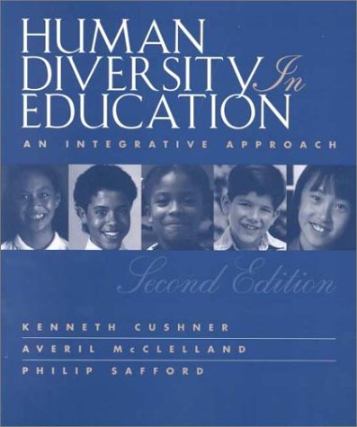 9780072285741: Human Diversity in Human Education: With Human Diversity in Action