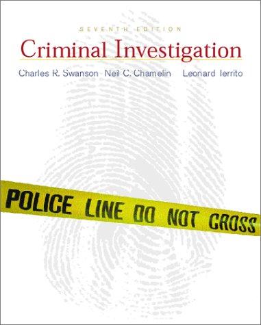 9780072285949: Criminal Investigation