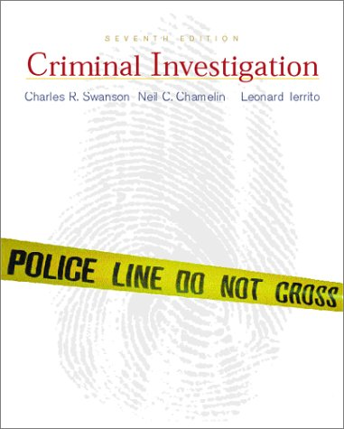 9780072285949: Criminal Investigation