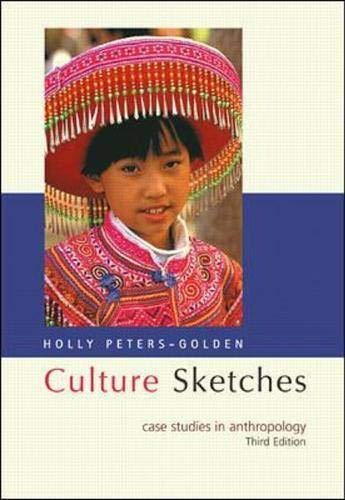 9780072285987: Culture Sketches: Case Studies in Anthropology