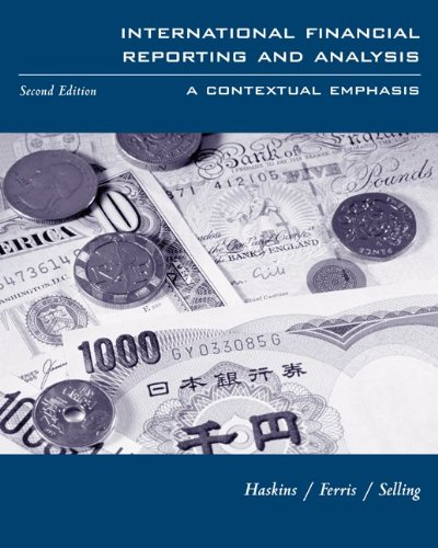 9780072287622: International Financial Reporting and Analysis