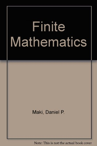9780072288667: Finite Mathematics