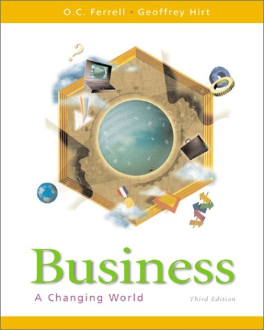 9780072288810: Business A Changing World (2000 publication)