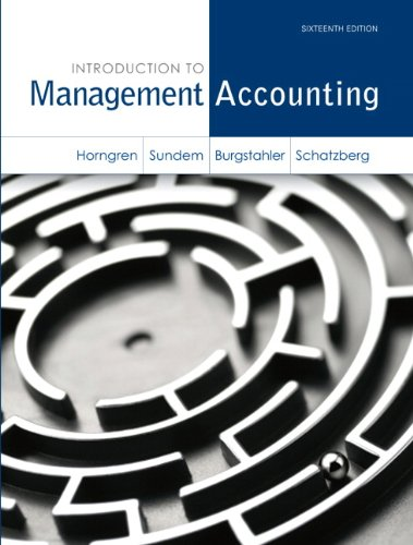 9780072290837: Management Accounting: A Strategic Focus Plus Selected Modules From Management Acounting (Paperback