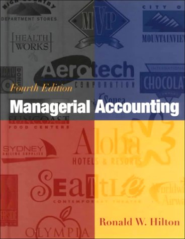 9780072290851: Managerial Accounting