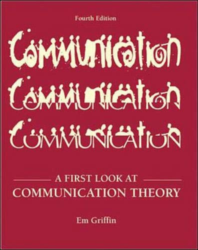 9780072291537: A First Look at Communication Theory