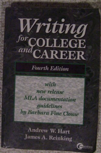 9780072291964: Writing for college and career