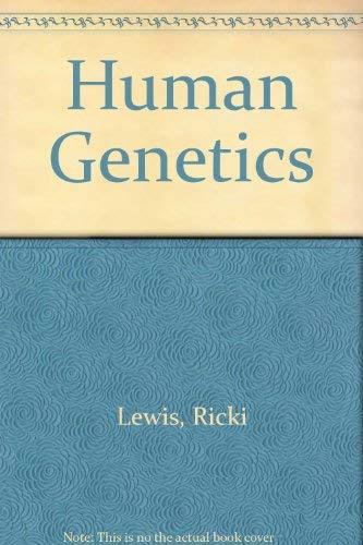 9780072292619: Human Genetics