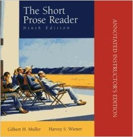 9780072292640: Short Prose Reader: Annotated Instructor's Edition