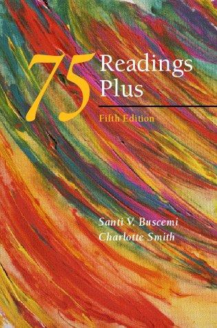 9780072292657: 75 Readings Plus