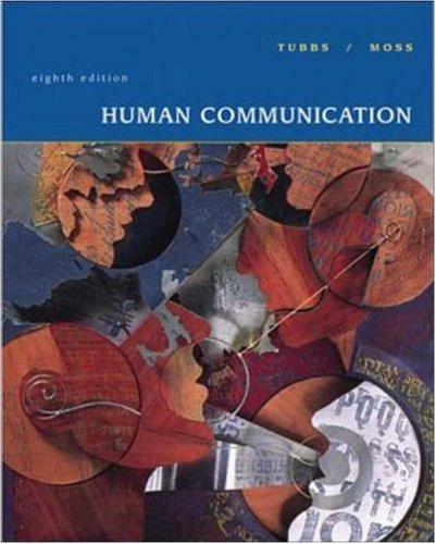 9780072292671: Human Communication
