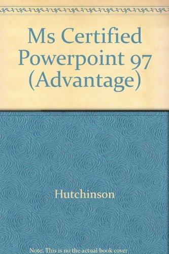 9780072293104: Microsoft Powerpoint 97 for Windows (Advantage Series)
