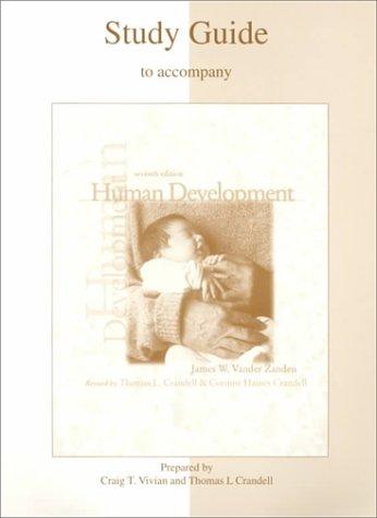 9780072293463: Human Development, 7th Edition, Study Guide