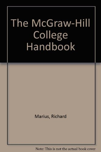 9780072293876: The McGraw-Hill College Handbook