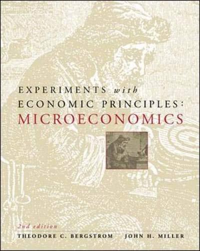 9780072295184: Experiments with Economic Principles: Microeconomics