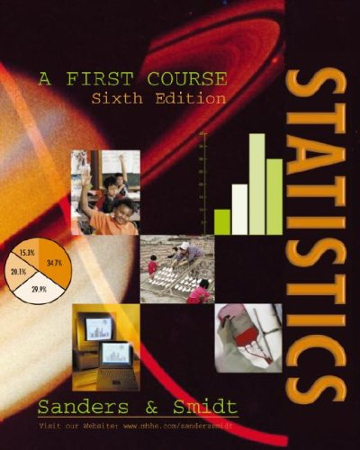 Statistics: A First Course: Donald H. Sanders,