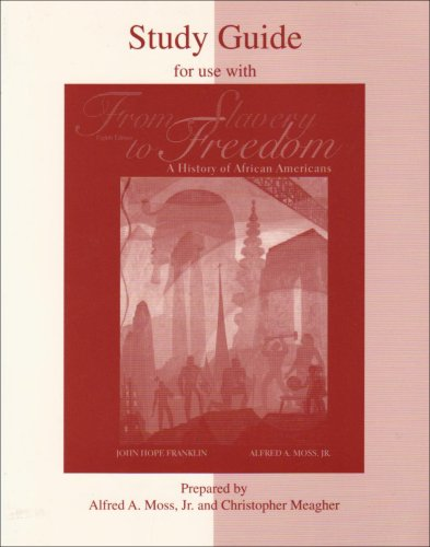 9780072295863: Student Study Guide for use with From Slavery to Freedom