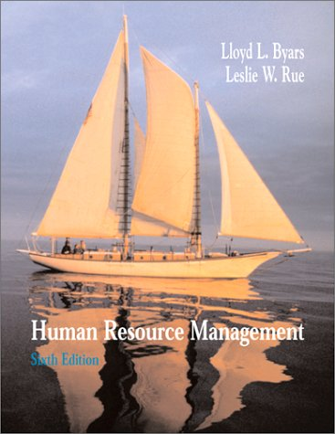 9780072295931: Human Resource Management