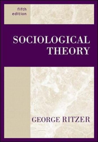 9780072296051: Sociological Theory