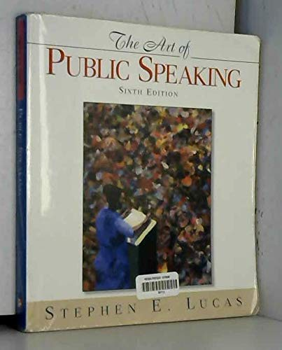 9780072296228: The Art of Public Speaking