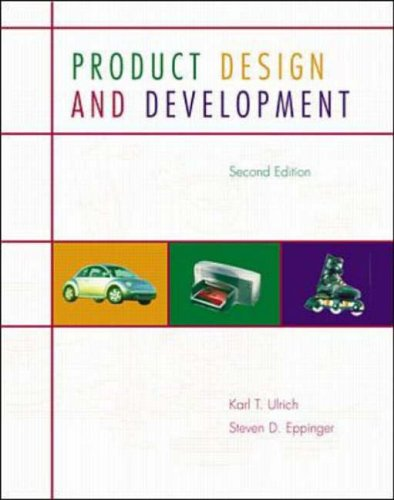 9780072296471: Product Design and Development