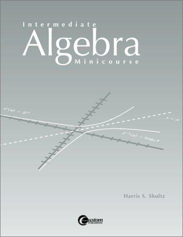 9780072298246: LSC (CALIF STATE U FULLERTON) : Inter. Algebra Minicourse