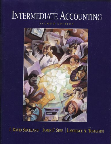 9780072298420: Intermediate Acounting,2000 publication
