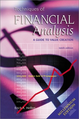 9780072299885: Techniques of Financial Analysis: A Guide to Value Creation (Irwin/McGraw-Hill Series in Finance, Insurance, and Real Est)