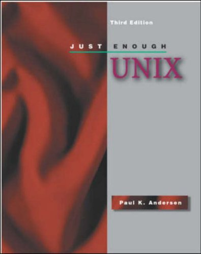 9780072302974: Just Enough UNIX