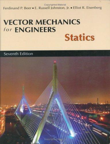 9780072304930: Vector Mech Engin Statics