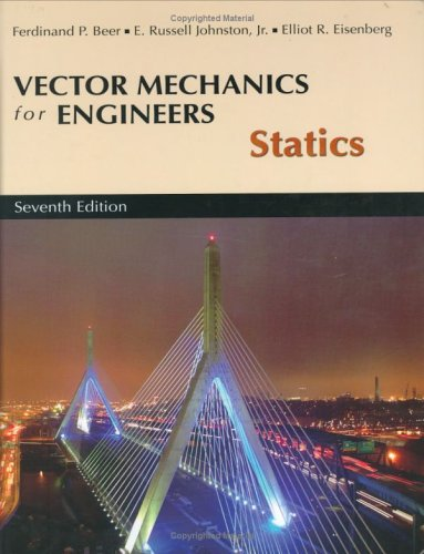 9780072304930: Vector Mech Engin Statics