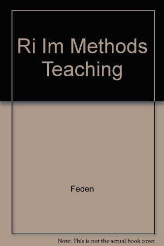 9780072305159: Ri Im Methods Teaching