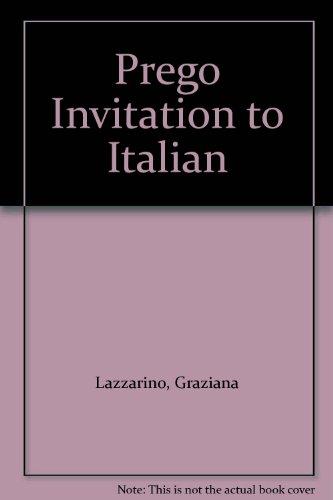 9780072308983: Prego Invitation to Italian
