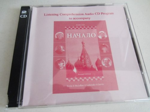 9780072309416: Listening Comprehension Audio CD (Component) to accompany Nachalo Book 2