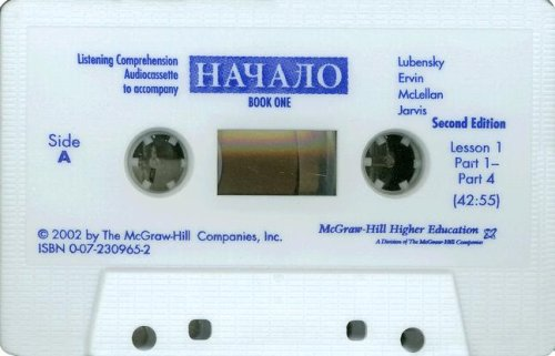 9780072309652: Listening Comprehension Audiocassette (Component) to accompany Nachalo Book 1