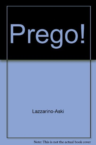 9780072310221: Workbook (Part A) to Accompany Prego! an Invitation to Italian