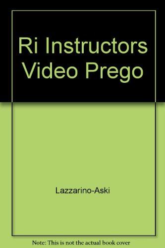 9780072310290: Ri Instructors Video Prego