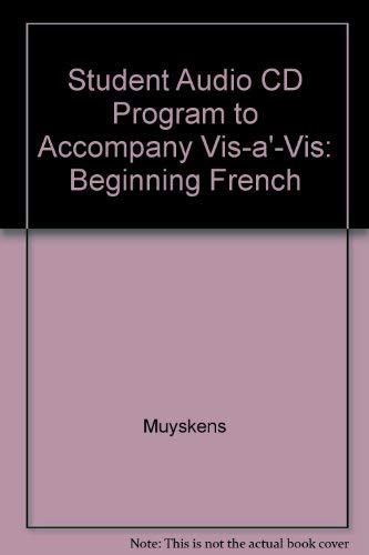 9780072310771: Vis-A-Vis: Beginning French