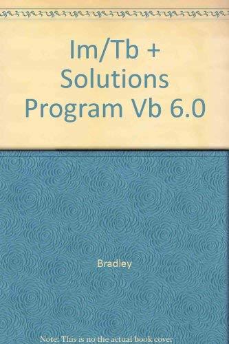 9780072311914: Ri Im/TB + Solutions Program Vb 6.0