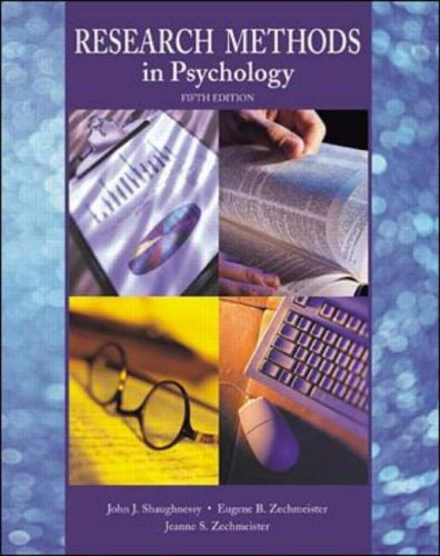 9780072312607: Research Methods in Psychology