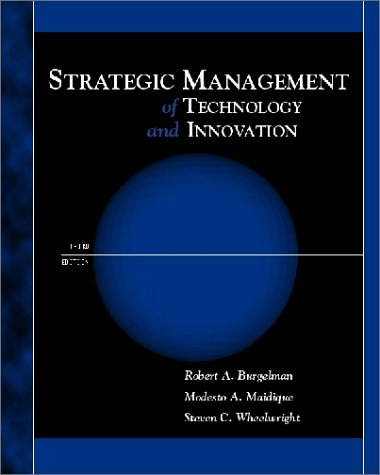 9780072312836: Strategic Management of Technology and Innovation