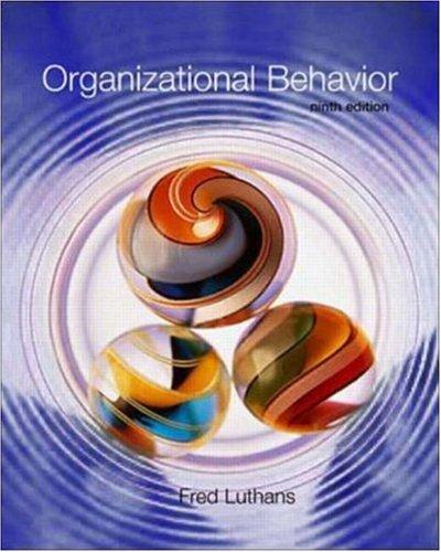 9780072312881: Organizational Behavior