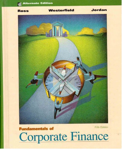 9780072312898: Fundamentals of Corporate Finance: Standard Edition
