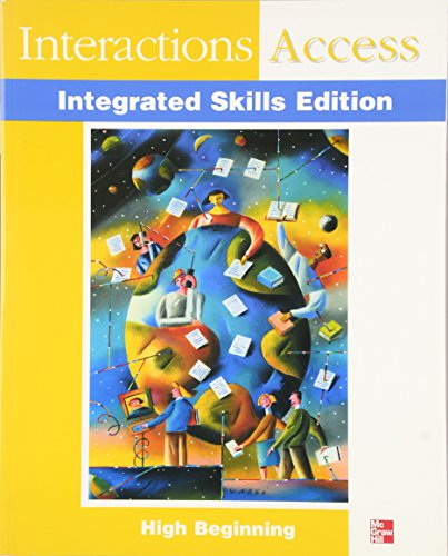 9780072313932: Interactions Integrated Skills - Interactions Access (Beginning) - Student Book (Interactions :Integrated Skills Program)
