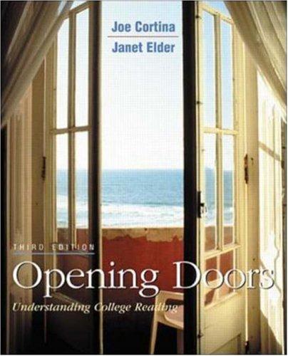 9780072314960: Opening Doors book alone