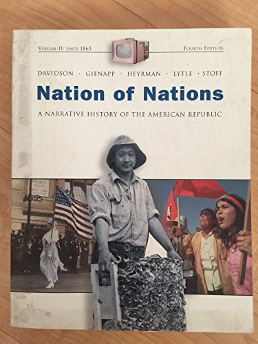 9780072315097: Nation of Nations: A Narrative History of the American Republic