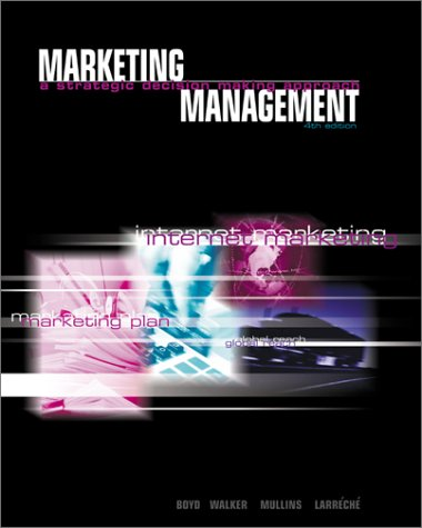 9780072315233: Marketing Management: A Strategic, Decision-Making Approach (The McGraw-Hill/Irwin Series in Marketi
