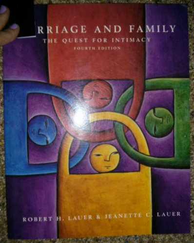 9780072315721: Marriage and Family the Quest for Intimacy